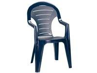 Chaise Empilable Bonaire Bleue