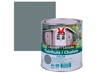 Lasure Bois Chalet Color 0,75L Satin Windstorm