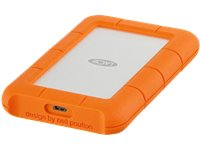 LACIE Externe Harde Schijf 4 TB Rugged USB-C (STFR4000800)