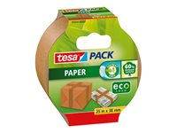 Ruban D'emballage Tesa 'Pack Papier Eco' 25 M X 38 Mm d'occasion