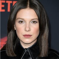 2c30a26f6aeb + 100 Photos Millie Bobby Brown looking cool