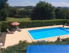 FRENCH HOUSE FOR SALE: heated pool, Gite and mountain views. Bramhall
