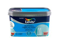 Peinture Levis 'Carrelage Mural' High Gloss White Touch  2L