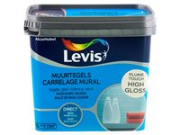 Peinture Levis 'Carrelage Mural' High Gloss Plume Touch 750Ml