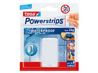 Support Brosse À Dents Powerstrips Blanc