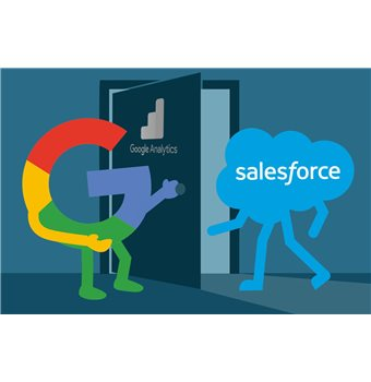 Salesforce adds the power of Google Analytics to its CRM offering