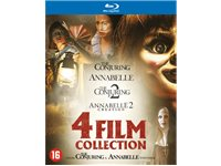 WARNER HOME VIDEO Annabelle + Annabelle 2: Creation + Conjuring 1 + Conjuring 2 Blu-Ray