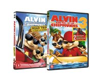 20TH CENTURY FOX Alvin En De Chipmunks 3 / Alvin En De Chipmunks 4 - DVD