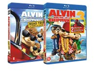 20TH CENTURY FOX Alvin En De Chipmunks 3 / Alvin En De Chipmunks 4 - Blu-Ray
