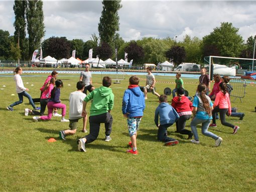 Animations fun, sportives, stands d'information au programmejd