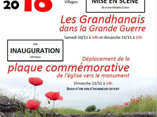 Grandhan Les Grandhanais Dans La Grande Guerre Et Son Bal De La