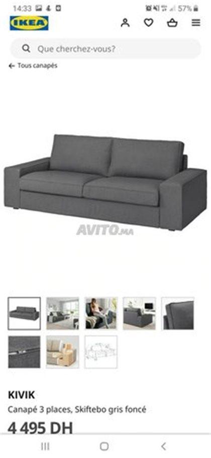 Ikea Canape Pas Cher 30 Annonces Sur Avito Ma