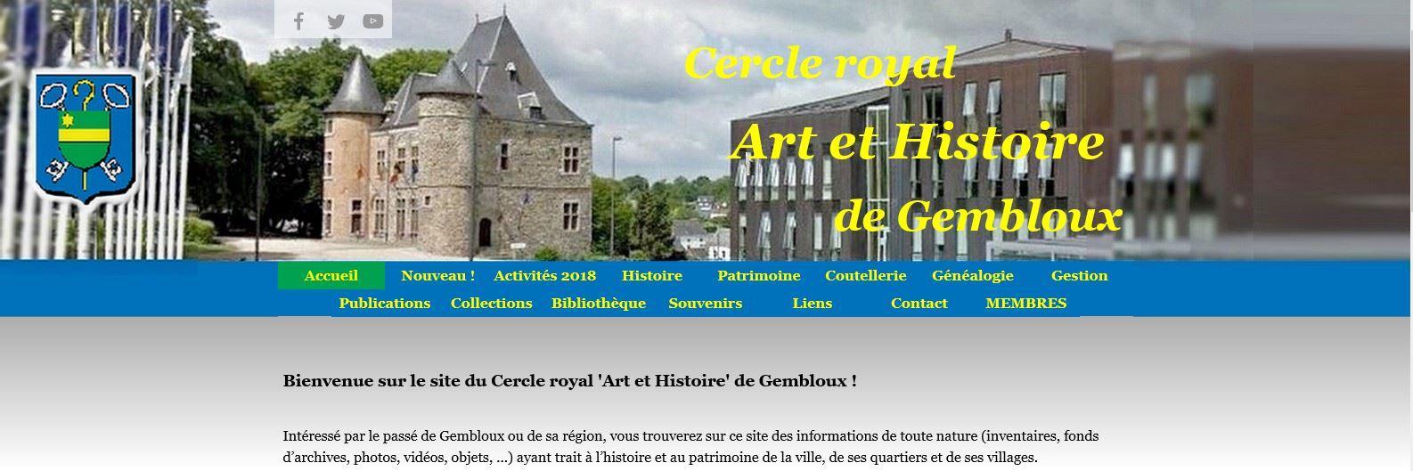Salle De Bain Afrique ~ Gembloux Nouveau Site Internet Pour Le Cercle Royal Art Et